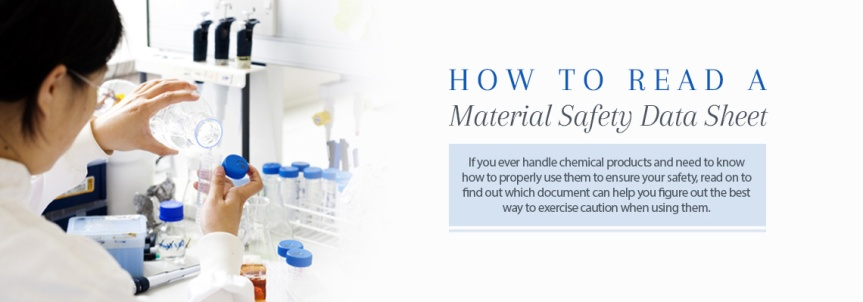 What is an MSDS? {Material Safety Data Sheet}